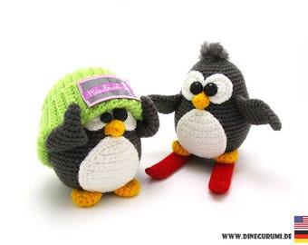 Penguins crochet pattern