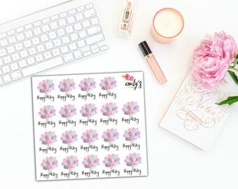 Birthday | Erin Condren, Personal Size  Planner Stickers