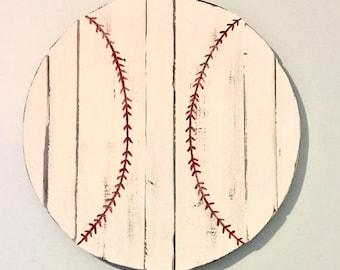 SUMMER SALE Wooden,baseball, football, basketball, boy's room, sports, pallet, game room, man cave, garage