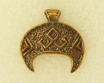 Amulet Pendant Lunnitsa With Symbol Of Rozhanitsa