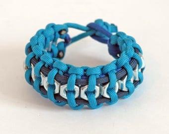 Men paracord bracelet, Survival bracelet, Rope bracelet, Men bracelet, Anchor bracelet, Nautical bracelet, Wrap bracelet, Nautical, Bracelet