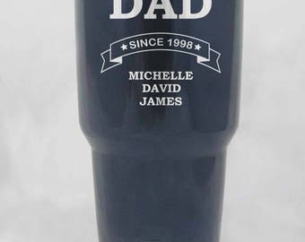 Fathers Day 30 oz YETI rambler custom personalized for YOU GIFT