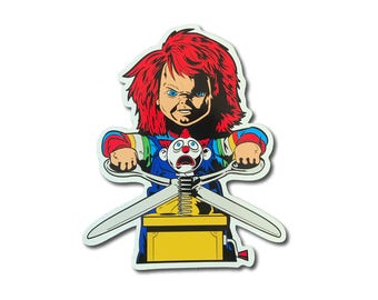 Chucky Child's Play Sticker