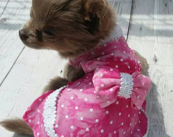 Dog Clothes - Chihuahua Clothes - Chihuahua Dress - Dog Dress - Small Dog Clothes - Pet Accessories - Chihuahua - Dog Outfit - Dog Collar