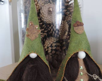 Nordic Gnome, Tomte, Nisse, Tonntu, Forest