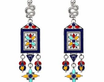 Bohemian chandelier earrings