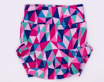 Pink Geo Shorties | Toddler | Baby | Trendy