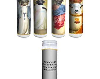 Custom Pet Prayer Candle