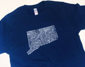 Connecticut Tee // CT Shirt // Tee Shirt // T-Shirt // State Pride