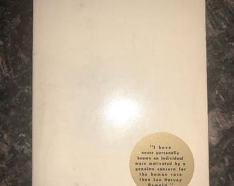 Oswald Kerry Thornley Warren Commission paperback book New Classics House 1965