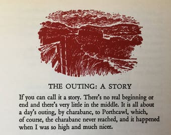 Dylan Thomas Book - The Outing