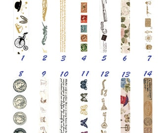 Gothic Tape, Creative, Retro, Stamp, Stationery