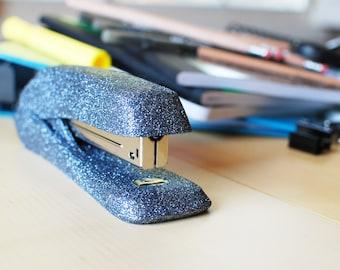 Gunmetal Glitter Stapler, Gray Glitter Stapler, Office Supplies, Glitter Office Supplies, Decorative Stapler, Stapler, Gray Office Supplies