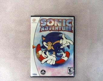 Sonic Adventure Custom Sega Dreamcast CASE (***NO GAME***)