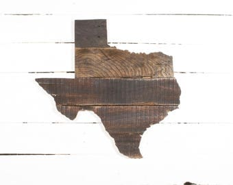 Texas Pallet Wall Art