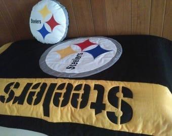 Steelers baby etsy for Pittsburgh steelers bedroom slippers