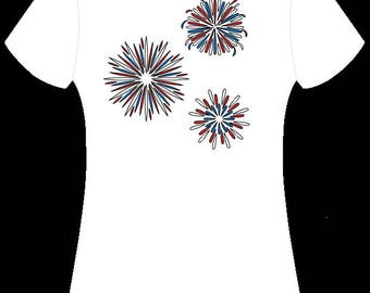 4th of July Fireworks Shirt