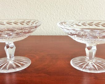 """Pair of Waterford """"Glendore"""" Compotes"""