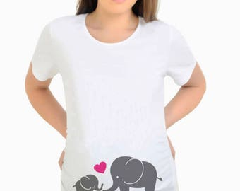 Elephant Maternity Shirt Made Cute Trends Gift