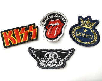 Assorted Embroidered Patches