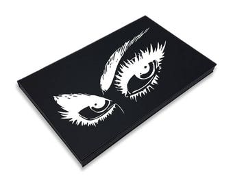 Intriguing Eyes Palette - Large Magnetic Makeup Palette with Mirror