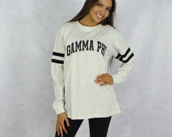 Gamma Phi Beta Long Sleeve Jersey T-Shirt