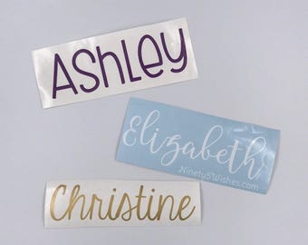 Personalized Name Decal|Custom Decal|Tumbler Decal| Laptop Decal| Personalized Decal| Custom Decal