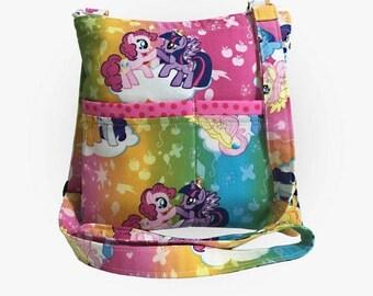 20% OFF SALE My Little Pony Crossbody Bag // Sling Bag // Crossbody Purse // Shoulder Bag // Hipster
