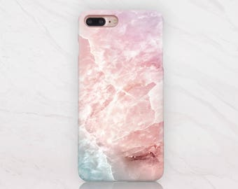Marble iPhone 7 Case iPhone 6s Case Cover Black iPhone 7 Plus Case iPhone 5s Case Marble Blue to Galaxy S6 Case Marble Phone Case RD1667