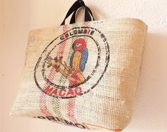Tote bag XL bag of coffee from Colombia - rare model race!