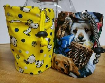Dog training treat pouch