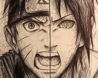 Naruto and Sasuke