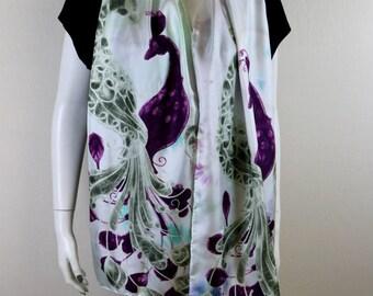 Traditional Silk Modal Scarf
