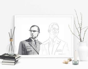 Fine Art Tom Hardy 'Legend' Print