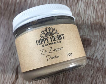 ZIT ZAPPING paste / acne spot treatment/ zit treatment/ acne spot/ facial/ clear skin treatment
