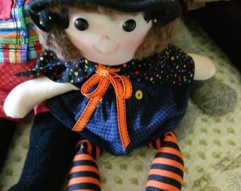 Halloween stuffed Witch