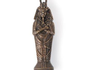 Sarcophagus Pendant w/ Mummy inside (STEAM294)