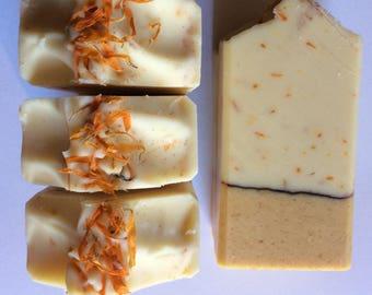 Lemon Calendula Handmade Artisan Soap