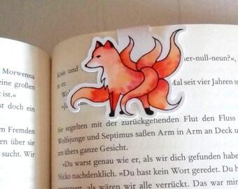 Kitsune Magnet Bookmarks