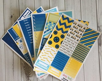 Birthday Sale Minions - Weekly Planner Sticker Kit - Vertical