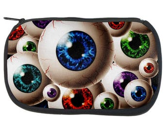 Creepy Watcher Eyeballs Pencil Pouch