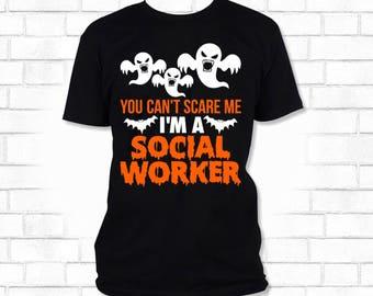 Halloween Social Worker T-Shirt