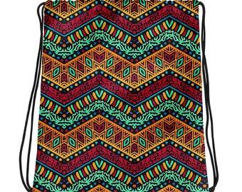 African Style No1, Drawstring bag