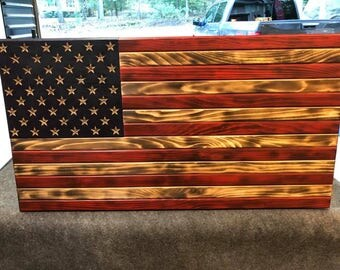 Beautifully Hand made American Flag