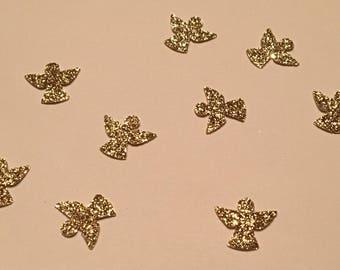 Angel Confetti Baby Shower Confetti Glitter Confetti Christening Confetti Birthday Confetti Baby Confetti Shower Confetti Gold Silver