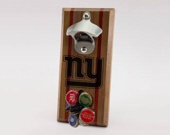 New York Giants Magnetic Bottle Opener