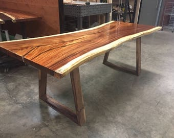 Tropical Live Edge Slab Tables Parota Costa Rica