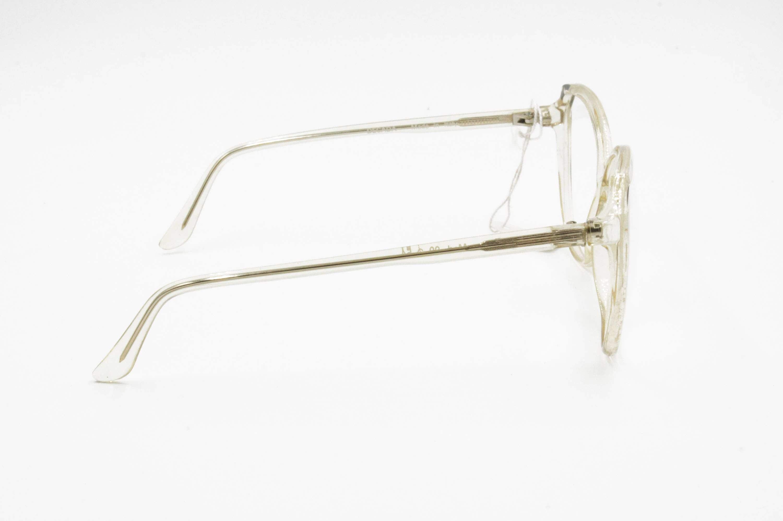 Oversize 1960s glasses frame for womens, oval large lenses made in ...