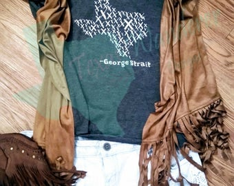 George Strait All My Exes Tour Shirt