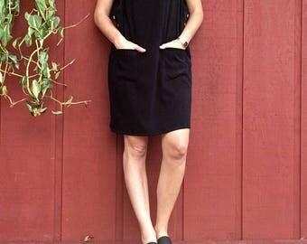 Vintage denim & co jumper black medium
